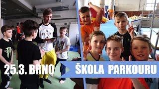 Parkour Brno (Workshop 25.3.2017)