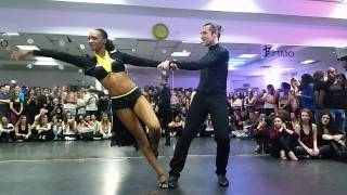 Isabelle & Felicien - Kizomba show in Israel