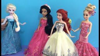 العاب بنات تلبيس ومكياج ستايل, مسابقة أميرات ديزني لتغيير المظهر! فساتين و تسريحات و إكسسوارات