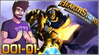 HearthStone w/ ShadyPenguinn GVG Arena #001-01 - Paladin Draft and Games