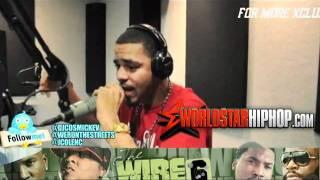J. Cole Freestyle On Radio Over -Ima Boss- & Otis Instrumental [Very Hot]