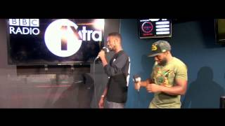 Logan Sama with D Double E & Footsie (Newham Generals) 1xtra SixtyMinutes 31/07/2014