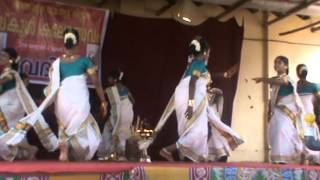Thiruvathira UP- Kerala School Kalolsavam 2014 - Alappuzha - BBHS Nangiarkulangara