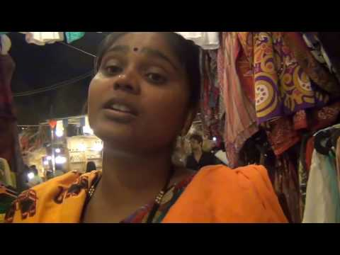 Night Shopping at Goa - Funny Foreigner reactions