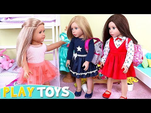 Xxx Mp4 AG Baby Doll Sleepover Party With Pizza Dinner In Doll Bedroom With Bunk Beds 3gp Sex