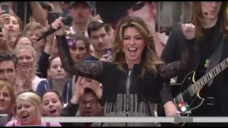 Shania Twain - That Don't Impress Me Much (Live, Today Show)