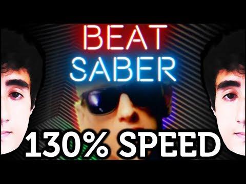 eminem  -  rap god  |  expert+  130% SPEED  [beat saber]