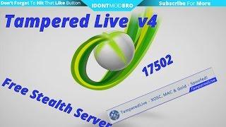 Tampered Live v4 Free Stealth Server - Dash: 17502 - Crazy KV Life(RGH/J-Tag)