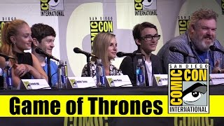 Game of Thrones | Comic Con 2016 Full Panel (Sophie Turner & Cast)