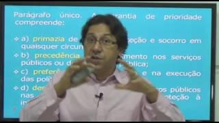 ECA -  Lei 8069/90 - Aula 01 parte 02 de 02. Prof. Hamurabi Messeder