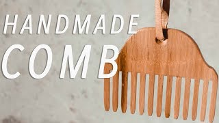 DIY Wooden Hair Comb // Woodworking How To