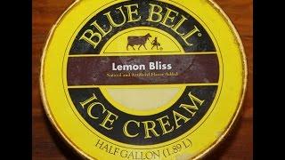 Blue Bell: Lemon Bliss Ice Cream Review