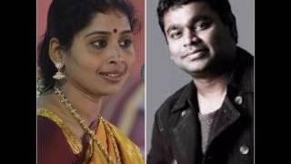 Great 5 Tamil Songs Of Nithyasri Mahadevan  With AR Rahman