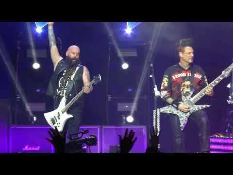 """""""Gone Away (Offspring) & Tribute to Chester"""" Five Finger Death Punch@Camden, NJ 81518"""