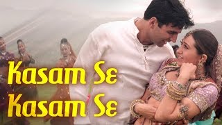 Kasam Se Kasam Se - Jaanwar Songs {HD} - Akshay Kumar - Karisma Kapoor - Udit Narayan - Alka Yagnik