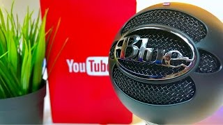 The Best Mic for YouTube — Blue Snowball iCE Review