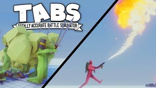TABS - Mustard Gas and Flame Throwers! WW1 and WW2 Factions - Totally Accurate Battle Simulator