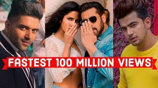 Fastest+Indian%2FBollywood+Songs+to+Reach+100+Million+Views+on+Youtube
