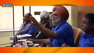 Journalist Sukhdev Singh on Punjab River Water Issue During Press Conference (April 04)