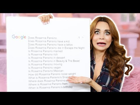 Rosanna Pansino Answers the Web's Most Searched Questions