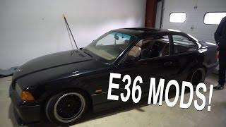 CHEAP E36 MODS!