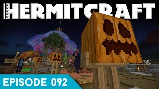 Hermitcraft IV 092 | THE PUMPKIN ARMY! | A Minecraft Let's Play
