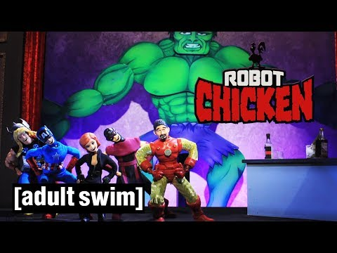 Xxx Mp4 The Best Of The Avengers Robot Chicken Adult Swim 3gp Sex