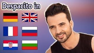Singing Despacito In 7 Different Languages With Zero Singing Skills
