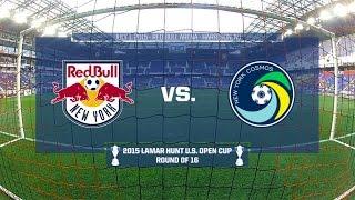 2015 Lamar Hunt U.S. Open Cup - Round of 16: New York Red Bulls vs. New York Cosmos