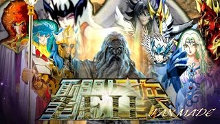 Caballeros del zodiaco contra Zeus. (Fan Made)