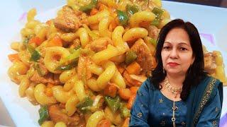 """Chicken Pasta Recipe I Chicken Macaroni I Chicken Pasta Recipe in urdu hindi """"Cook With Shaheen"""""""