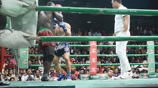 Bayon Muay Thai International Fight, Biafra Vs. Iran