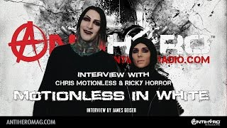 Carolina Rebellion 2017: Interview with Chris Motionless and Ricky Horror of Motionless In White