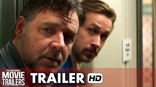 The Nice Guys ft. Ryan Gosling, Russell Crowe Official Trailer (2016) HD