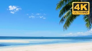 Relaxing Nature Video in Ultra HD: Tropical Beach in 4K