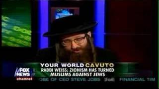 Rabbi Weiss on Fox News Against the Creation of Israel