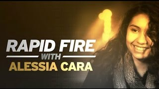 Alessia Cara Talks Favourite TV Show To Binge-Watch And More! | Rapid Fire