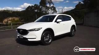 2017 Mazda CX-5 0-100km/h & engine sound
