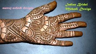 beautiful indian  mehndi designs bridal mehndi-bridal henna designs for full hands-5