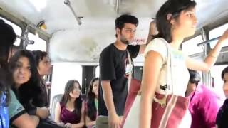 see what is going on in Indian bus?.