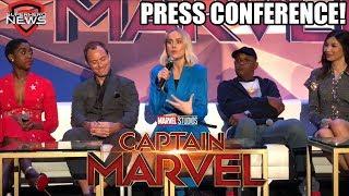 Marvel Studios' Captain Marvel - Full Press Conference