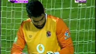 خالد قمر يحرز الهدف الأول في شباك الأهلي (سموحة vs  الأهلي)..الدوري الممتاز2015\2016