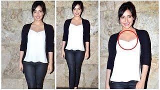 Neha Sharma Dazzling in White Top @ Humshakals Screening