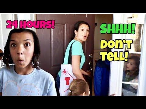 24 Hours in SMELLYBELLYTV s House We SNUCK into their house