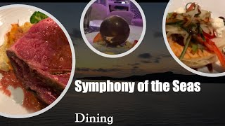 SYMPHONY of the Seas: FOOD REVIEW