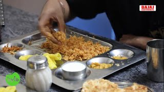 Amazing South Indian Thali | Non Veg Curries with Thali | Sai Ram Mess Reasonable Pricing