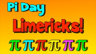 Pi Limericks for Pi Day!