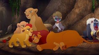 Lion Guard: Good King Simba song / Simba is stung! | The Scorpion's Sting HD Cli[p