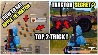TOP 2 SECRET HOW TO GET APPLES IN MAIN MATCH PUBG MOBILE AFTER 0.8 UPDATE ? DUMMY TRACTOR TRICK !