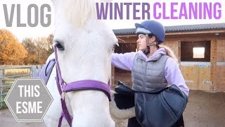 Vlog | Winter cleaning and Jumping | This Esme